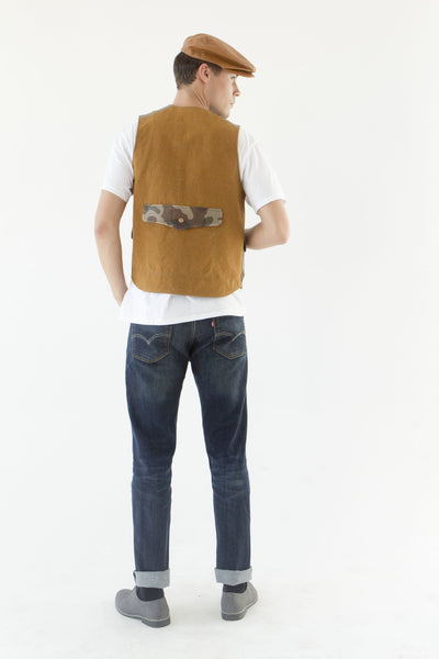 Green Fisherman Vest
