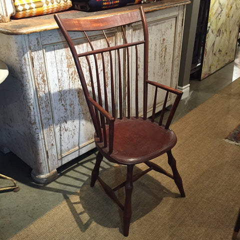 American Rod Back Windsor Armchair