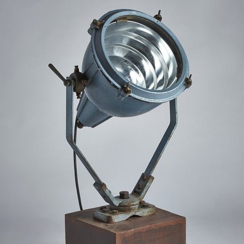 Heavy Industrial Lamp on Rolling Base