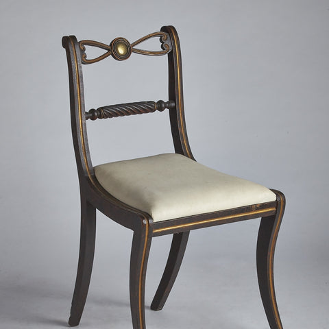 English Regency Side Chairs