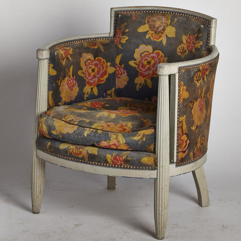 Art Deco Armchair with original upholstery
