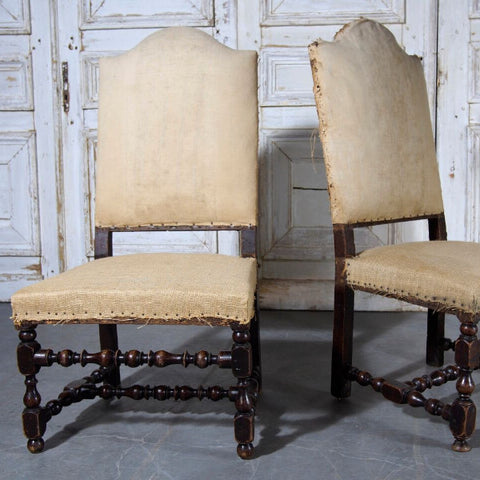Antique Louis XIII Side Chairs