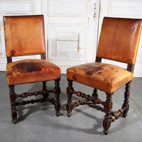 Louis XIII Side Chairs