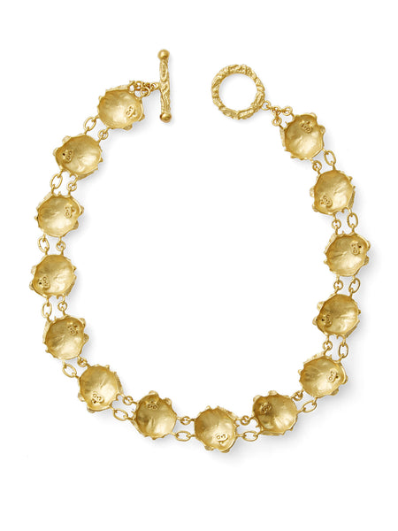 Alessandra Silver / Gold Necklace