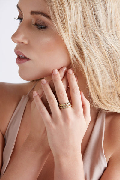 (pre-order) Allegria Stacker Ring