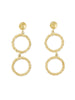 (pre-order) Annah Silver / Gold Double Hoop Earrings