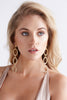 (pre-order) Annah Gold Triple Hoop Earrings