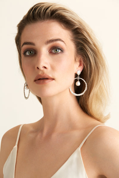 Buena Earrings - Silver