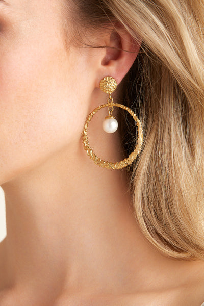 Buena Earrings - Gold