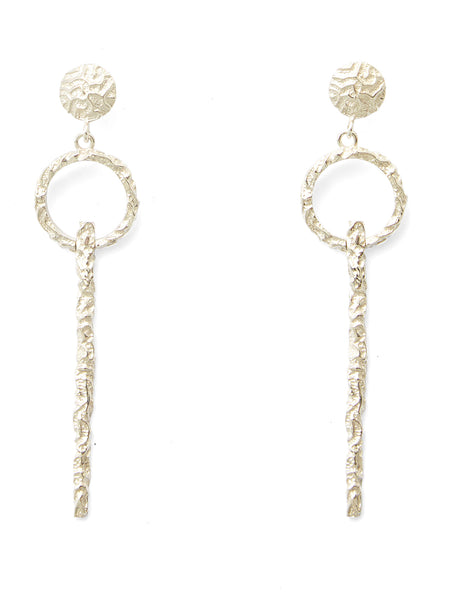 Adona Earrings - Silver
