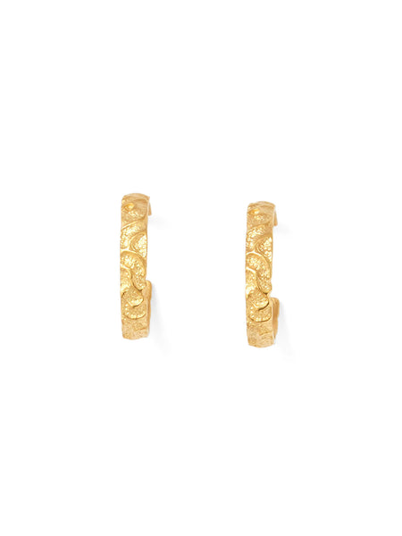 Aria Hoop Earrings - Gold