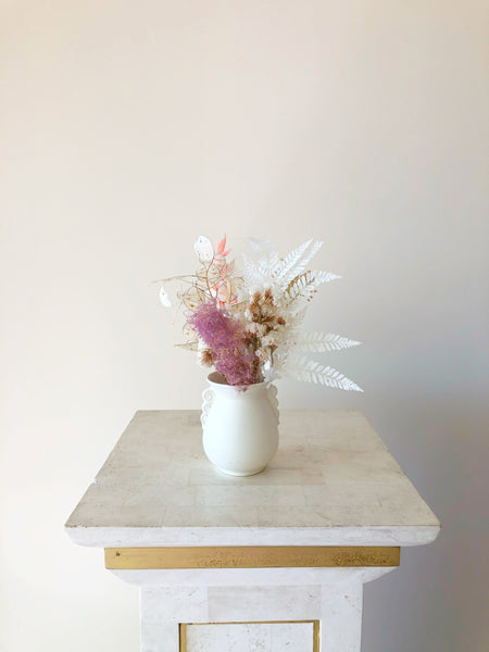 Dusk | Rare Collectible Vase and Forever Floral Arrangement