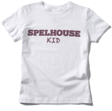 Spelhouse Kid in Maroon and White