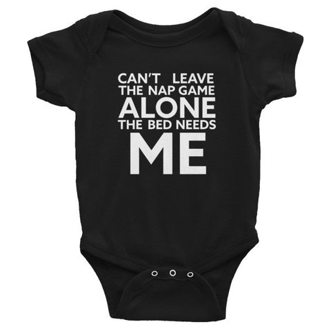 Nap Game- Infant Short Sleeve Onesie