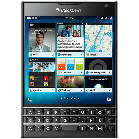 BlackBerry Passport Black SQW100-1