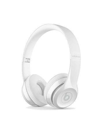 Beats Solo3 Wireless On Ear Headphones - Gloss White