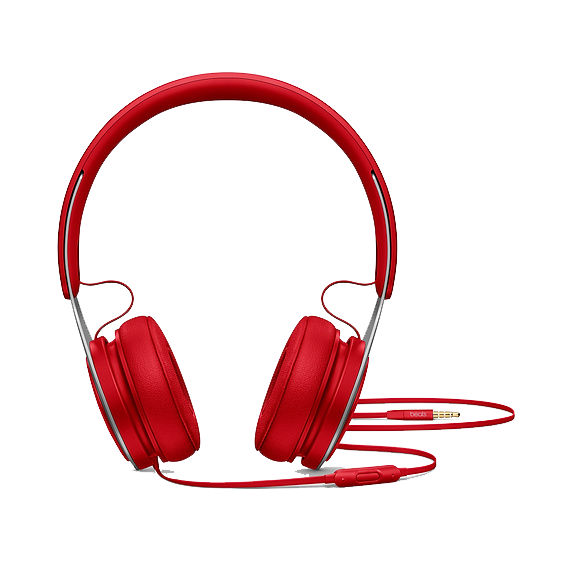 Beats by Dre EP On Ear Headphones - Red  - Manufacturer Refurbished