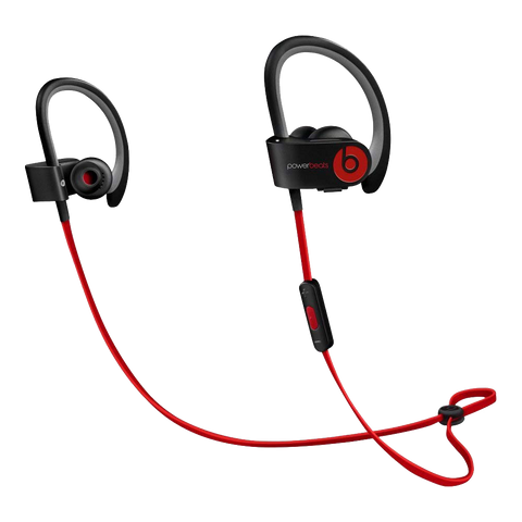 Powerbeats2 Wireless Earphones - Black - Manufacturer Refurbished