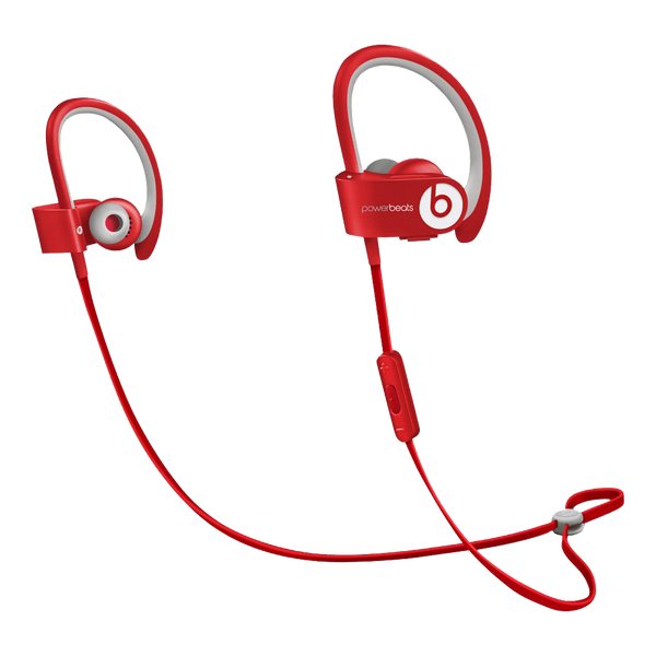 Powerbeats2 Wireless Earphones - Red - Manufacturer Refurbished