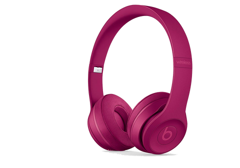 Beats Solo3 Wireless On-Ear Headphones – Brick Red - Manufacturer Refurbished