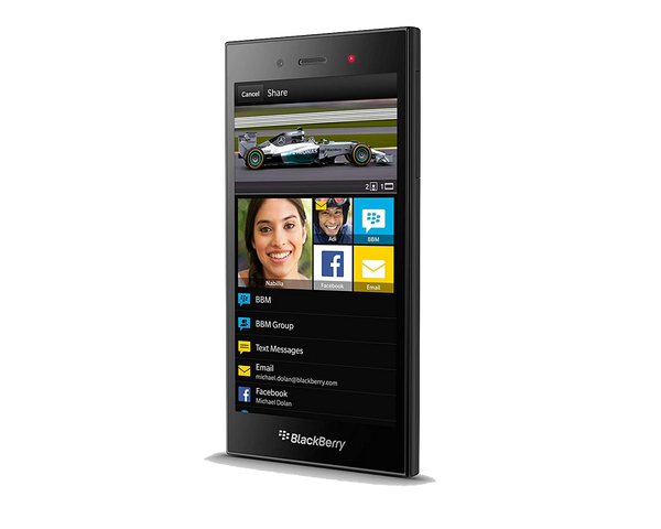 BlackBerry Z3 STJ100-2 Black Factory Unlocked (Refurbished)