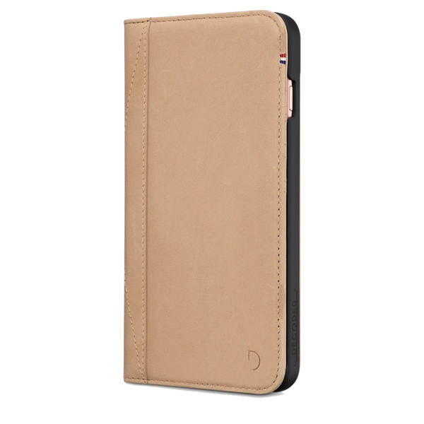 timeless design a3573 00c3c Decoded Leather Wallet Case for iPhone 8 / 7 / 6S / 6 - Sahara