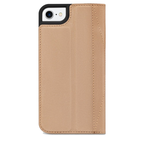 timeless design 4f55a c92e3 Decoded Leather Wallet Case for iPhone 8 / 7 / 6S / 6 - Sahara