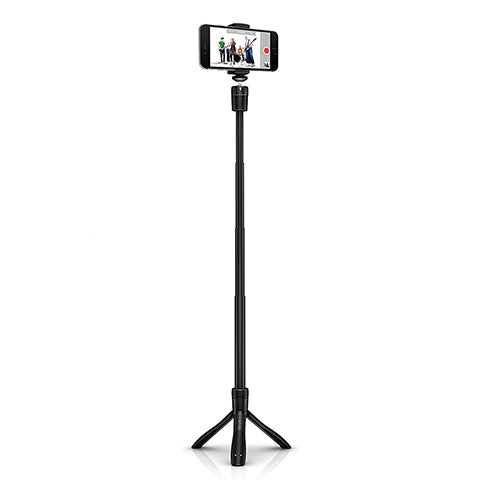 IK Multimedia iKlip Grip Selfie Stick and Smartphone Stand with Bluetooth Shutter