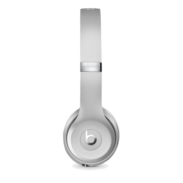 Beats Solo3 Wireless On-Ear Headphones – Matte Silver - Manufacturer Refurbished