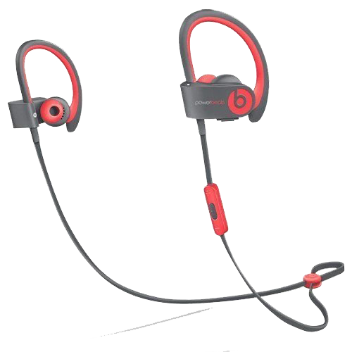 Powerbeats2 Wireless Earphones - Siren Red - Manufacturer Refurbished