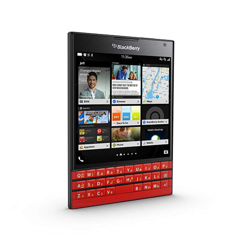 BlackBerry Passport SQW100-1 Red International Version Limited Edition Factory Unlocked