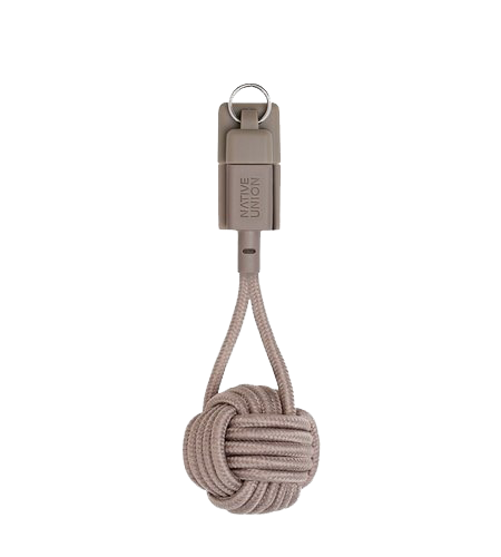 Native Union Lightning to USB Key Cable - Taupe