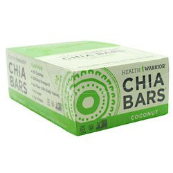 HEALTH WARRIOR - CHIA BAR - 15 PACK