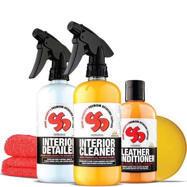 REVIVE: Interior Cleaning & Detailing Kit