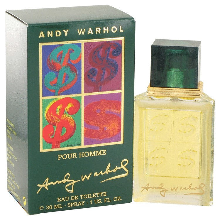 Andy Warhol by Andy Warhol Eau De Toilette Spray 1 oz for Men