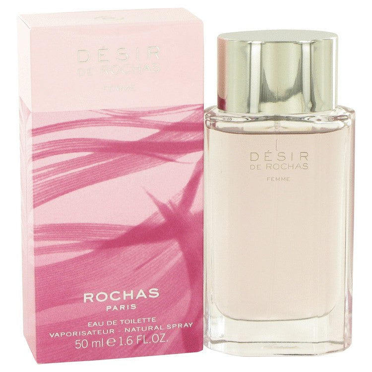 Desir De Rochas by Rochas Eau De Toilette Spray 1.7 oz for Women
