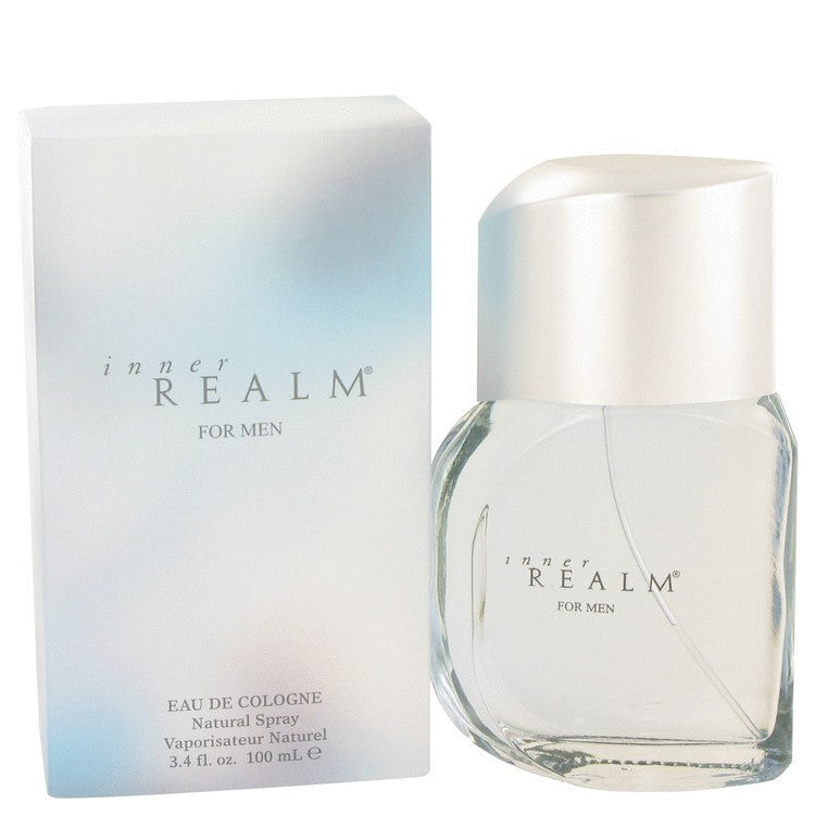 Inner Realm by Erox Eau De Cologne Spray (New Packaging) 3.4 oz for Men