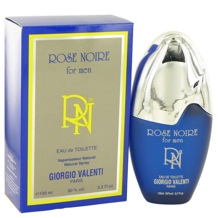 ROSE NOIRE by Giorgio Valenti Eau De Toilette Spray 3.4 oz for Men