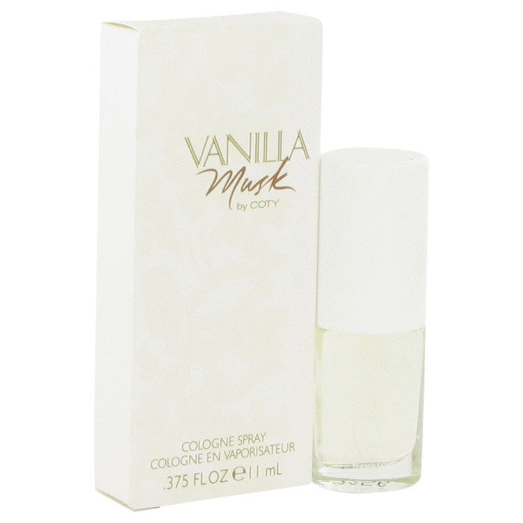 Vanilla Musk by Coty Cologne Spray .375 oz for Women