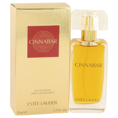 CINNABAR by Estee Lauder Eau De Parfum Spray (New Packaging) 1.7 oz for Women
