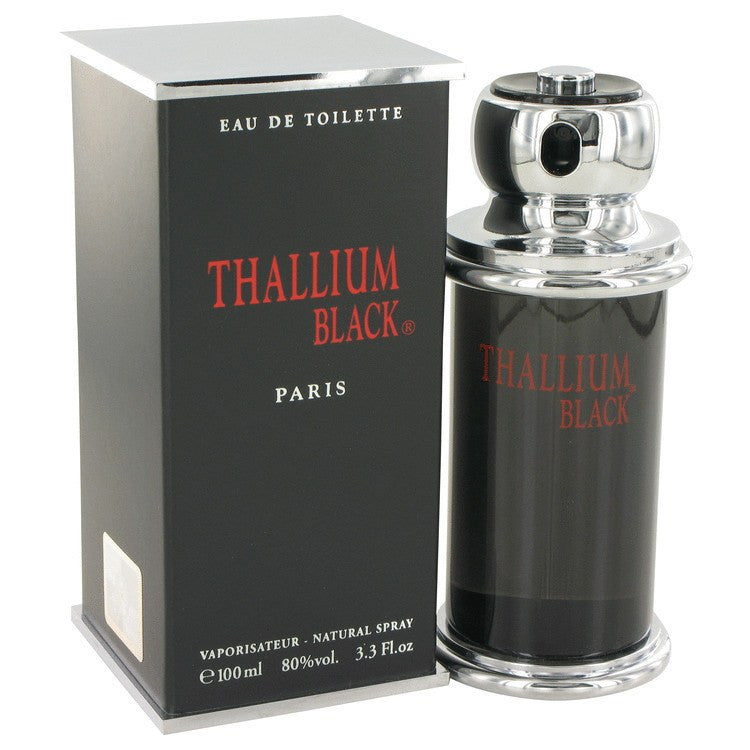 Thallium Black by Yves De Sistelle Eau DeToilette Spray 3.3 oz for Men