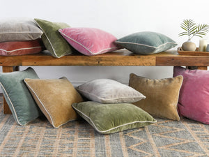 Heirloom Velvet Pillows