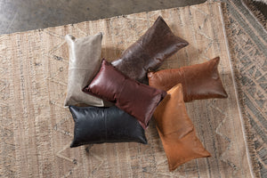 Soco Leather Pillows