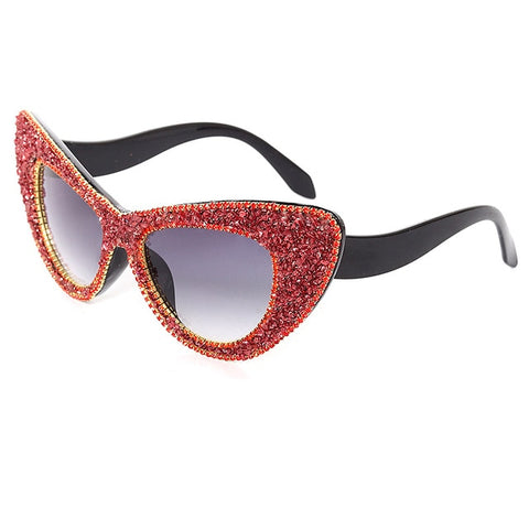 Oversized Cat Eye Sunglasses