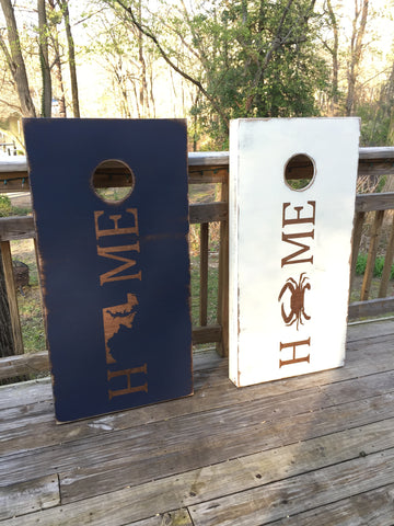 Home Corn hole Set *Sale and Holiday Ordering*