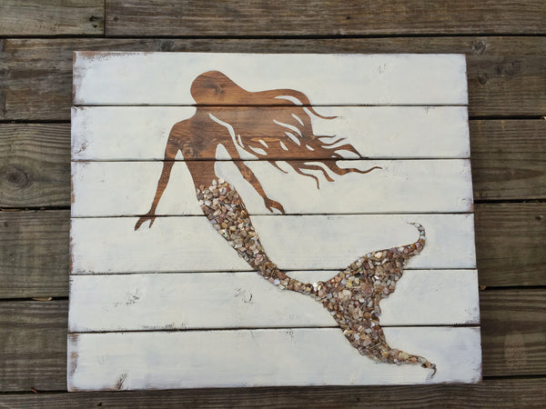 Athens Shell Tailed Mermaid