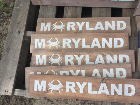 Maryland sign