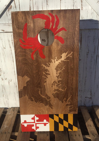 Maryland Corn hole Boards (deposit OR pay in full)