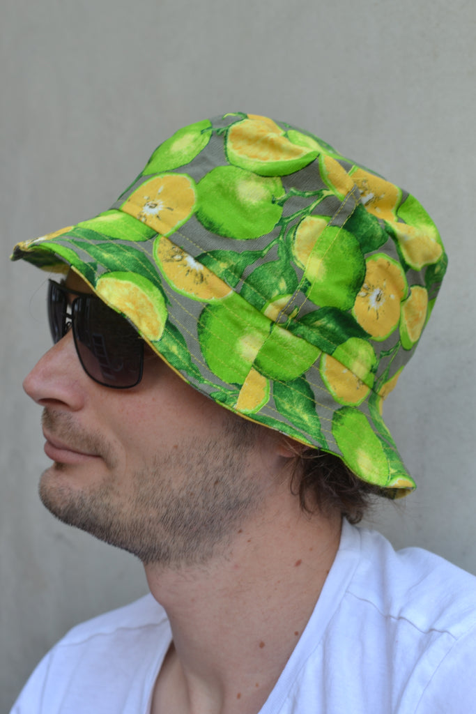 Lime Bucket Hats