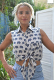 Sleeveless Elephant Top